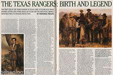 Texas Rangers Birth & Legend-Burton,Chevallie,Erath,Erskine,Smithwick,Tumlinson,