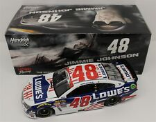 IN STOCK 2015 JIMMIE JOHNSON #48 LOWE'S PATRIOTIC SALUTE CHEVY SS ACTION 1/24