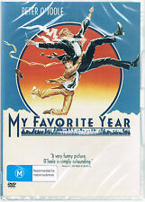 MY FAVORITE YEAR (1982 Peter O'Toole)  -  DVD -  UK Compatible - sealed