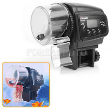 New Digital Automatic Auto Aquarium Tank Pond Fish Timer Food Feeder LCD Feeding