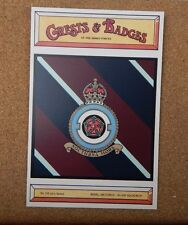Royal Air force 630 Squadron Crests & Badges of  the Armed services sqaudron
