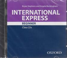 Oxford INTERNATIONAL EXPRESS 3rd Ed Beginner CLASS CDs I STEPHENS @New & Sealed@
