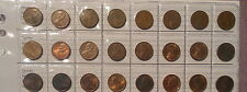 1966 TO 1990 1c Australian One Cent Collection set includes Rare 1968