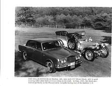 USA  ROLLS ROYCE SILVER SHADOW AND'GHOST ORIGINAL PRESS PHOTO 'brochure related'