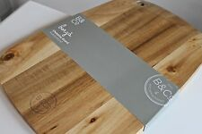 Chopping Board Serving Butchers Block Solid Wood Quality Kitchen Large Gift New