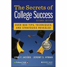 The Secrets of College Success (Professors' Guide), Hyman, Jeremy S., Jacobs, Ly