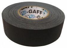 "Pro Gaff Black Gaffers Tape 2"" Wide X 60 yrd Roll Gaff"