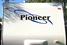 Fleetwood Pioneer decal decals sticker rv trailer stickers