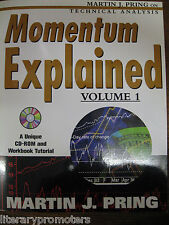 MOMENTUM EXPLAINED BY MARTIN J PRING CD-ROM&WORKBOOK TUTORIAL TECHNICAL ANALYSIS