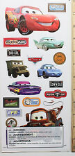 NEW -  DISNEYS ~ LARGE Cars Movie Stickers~ FREE SHIPPING