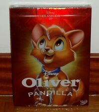 OLIVER Y SU PANDILLA-OLIVER&COMPANY-DISNEY-DVD-CLASICO Nº 27-PRECINTADO-SEALED