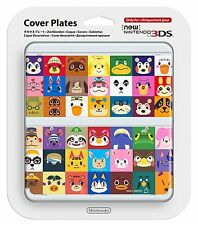 NEW Nintendo 3DS Cover Plates Kisekae plate No.068 Animal Crossing Japan F/S