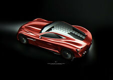 AMAZING ALFA ROMEO CONCEPT NEW A1 CANVAS GICLEE ART PRINT POSTER FRAMED
