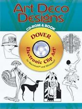 NEW - Art Deco Designs CD-ROM and Book (Dover Electronic Clip Art)