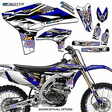 2005 2006 2007 YZ 125 250 GRAPHICS KIT YAMAHA YZ125 YZ250 DECO DECALS STICKERS
