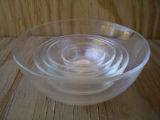 Duralex Clear Glass Made In France 5 Bowl Set