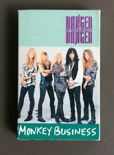 DANGER DANGER - Monkey Business Cassette Tape Single 1991 Glam Rock Ted Poley