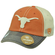 NCAA Top of the World Texas Longhorns Mesh Flex Fit One Size Stretch Hat Cap