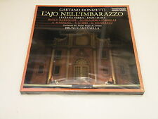 GAETANO DONIZETTI - L'AJO NELLIMBARAZZO - BOX 3 LP FONIT CETRA PARTIALLY SEALED