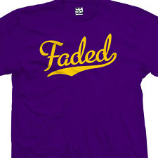 Faded Script Tail T-Shirt - Kush Bud Weed Team Legalize It - All Sizes & Colors