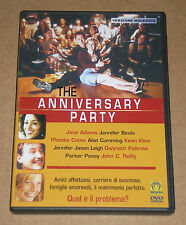 THE ANNIVERSARY PARTY (con GWYNETH PALTROW e KEVIN KLINE) - DVD FILM