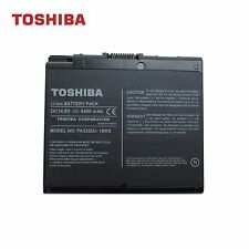 NEW Genuine Toshiba Satellite A30  A35 2400 12 Cell Li-Ion Battery PA3335U-1BRS