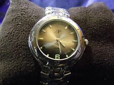 Man's JF Watch with Glow in Dark Numbers **Nice** B28-793