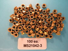 MS21042-3 Reduced Hex Head Aircraft Lock Nuts (100)