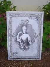 toile sur chassis tableau portrait  Marie-Antoinette Mathilde M déco de charme