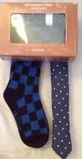 Sovereign Code Little Boys Tie & Sock Set Size 4-7 Blues