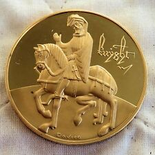THE KNIGHT'S TALE CHAUCER CANTERBURY TALES 44mm BRONZE PROOF MEDAL