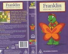 FRANKLIN FRANKLINS KITE MINT SEALED VHS VIDEO PAL~ A RARE FIND