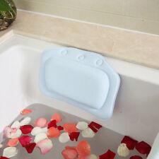 Bequem Badewanne Kissen aus PVC mit Saugnapf Wasserdicht Rückenlehne Kopfstütze