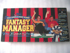 FANTASY FOOTBALL MANAGER BOARD GAME / FRANK SKINNER / DAVID BADDIEL