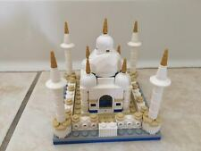 Lego Custom Taj Mahal Tajimahal India Miniature Scale Display Architecture Legos