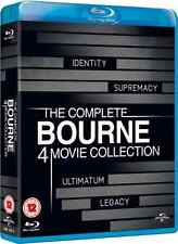 The Complete Bourne 4 Movie Collection Blu-ray Boxset (Identity, Legacy)