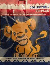 Disney Pins Character New 2016 5 Pin Pack Set