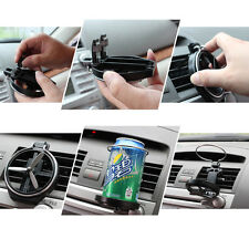 Car Foldable Bottle Drink Holders Wind Air A/C Outlet Cup Bracket SUV PICKUP