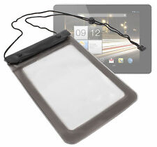 Black Waterproof 8-inch Sleeve Pouch Case for Acer Iconia A1 & Iconia B1 tablets