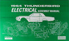 1964 Thunderbird Electrical Assembly Manual Wiring Diagrams 64 Ford T Bird TBird