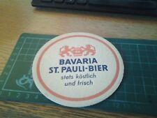 sottobicchiere beer mats birra bavaria st Pauli bier