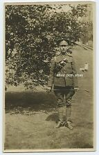 "Military Canadian Man in uniform in SCOTLAND - WWI era The ""Great War"""