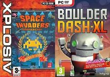 Space Invaders Anniversary & boulder dash-xl    new&sealed