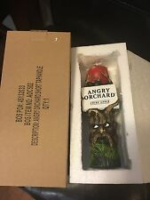 "Angry Orchard Hard Apple Cider Short 8"" Tap Handle - New In Box !!!!!!"
