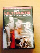 UFC: ULTIMATE HEAVYWEIGHTS [DVD 2010 1-Disc Set]  BRAND NEW SEALED