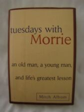 Tuesdays With Morrie book HC with dust jacket 1997 by Mitch Albom