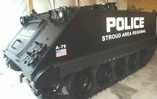 Arsenal-M HO scale M113 Stroud Area Regional POLICE kit
