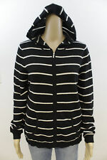 #4213 CHARTER CLUB 100% CASHMERE FULL ZIP HOODED HOODIE SWEATER WOMENS LARGE