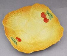 Vintage BESWICK Yellow Salad Plate Tomatoes RARE COLOUR English China Kitsch