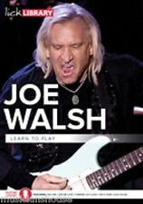 Lick library learn to play joe walsh jam with the eagles rock guitare dvd funk